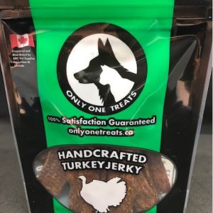 Only One Treat Turkey Jerky